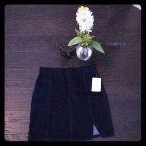 NWT Free People Denim Mini Skirt 🦋